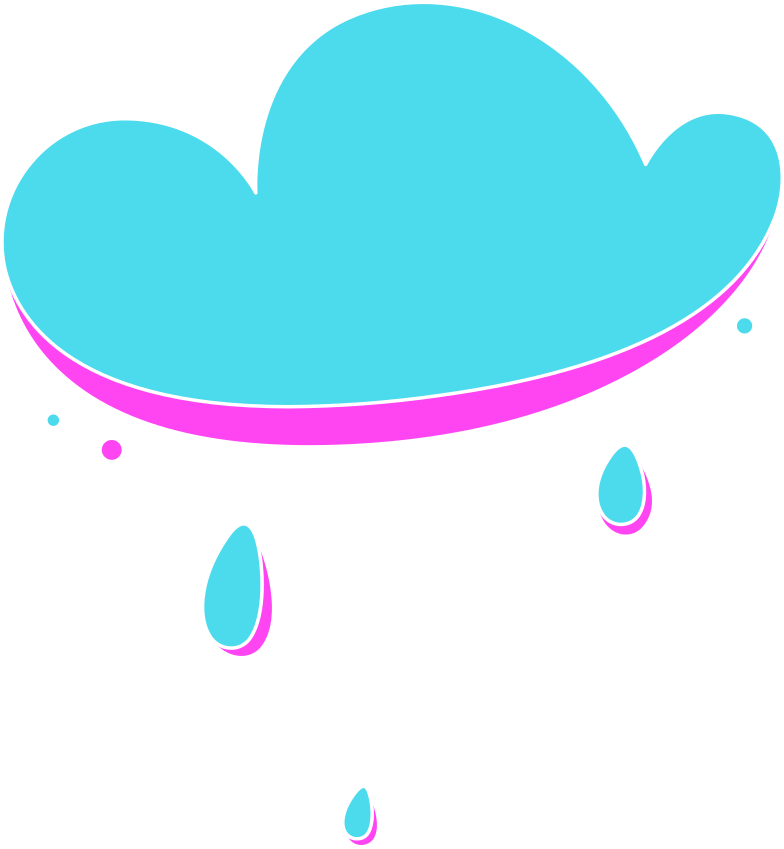 rg blue cloud Clipart illustration in PNG, SVG