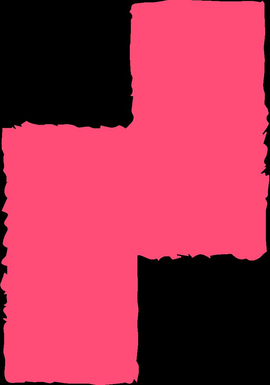 block pink Clipart illustration in PNG, SVG