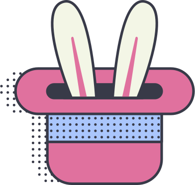 style rabbit in a hat images in PNG and SVG   Icons8 Illustrations