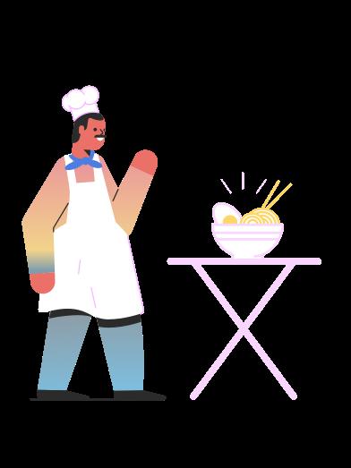 Иллюстрация Главный в стиле  в PNG и SVG | Icons8 Иллюстрации