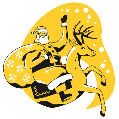 style Merry christmas images in PNG and SVG | Icons8 Illustrations
