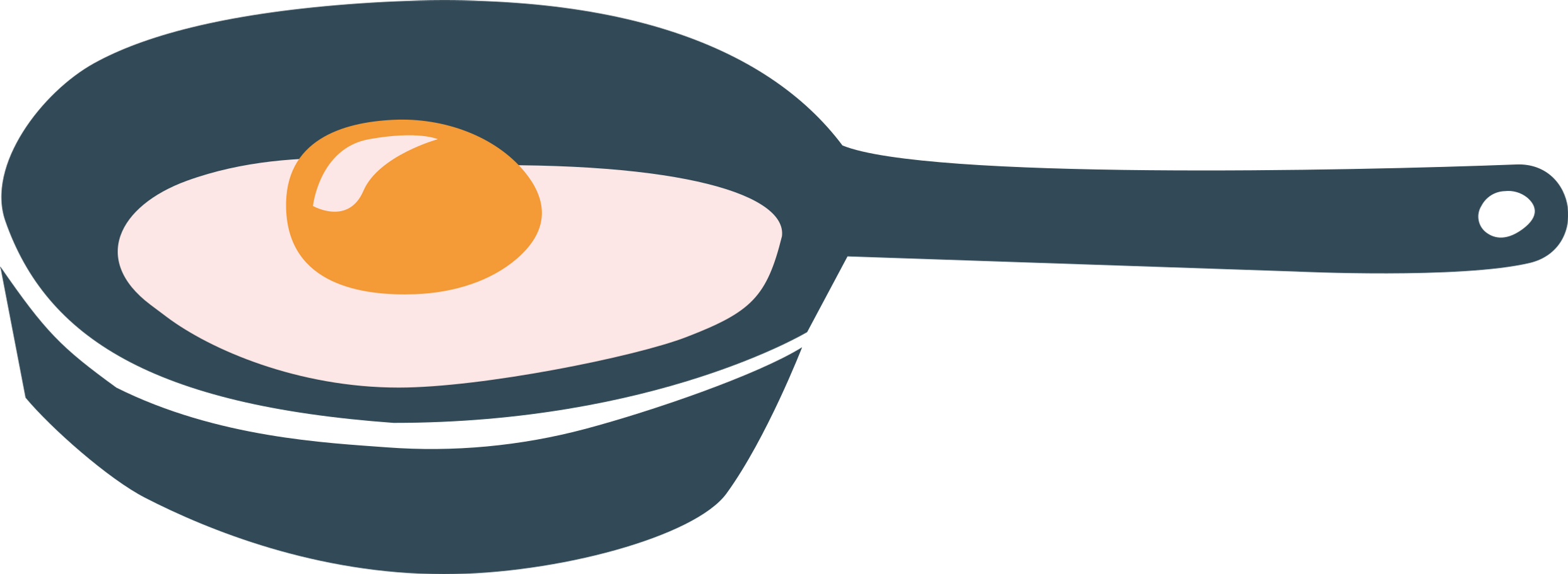 style e frying pan with fried eggs images in PNG and SVG | Icons8 Illustrations