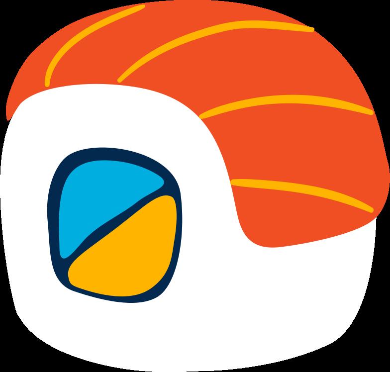 sushi Clipart illustration in PNG, SVG