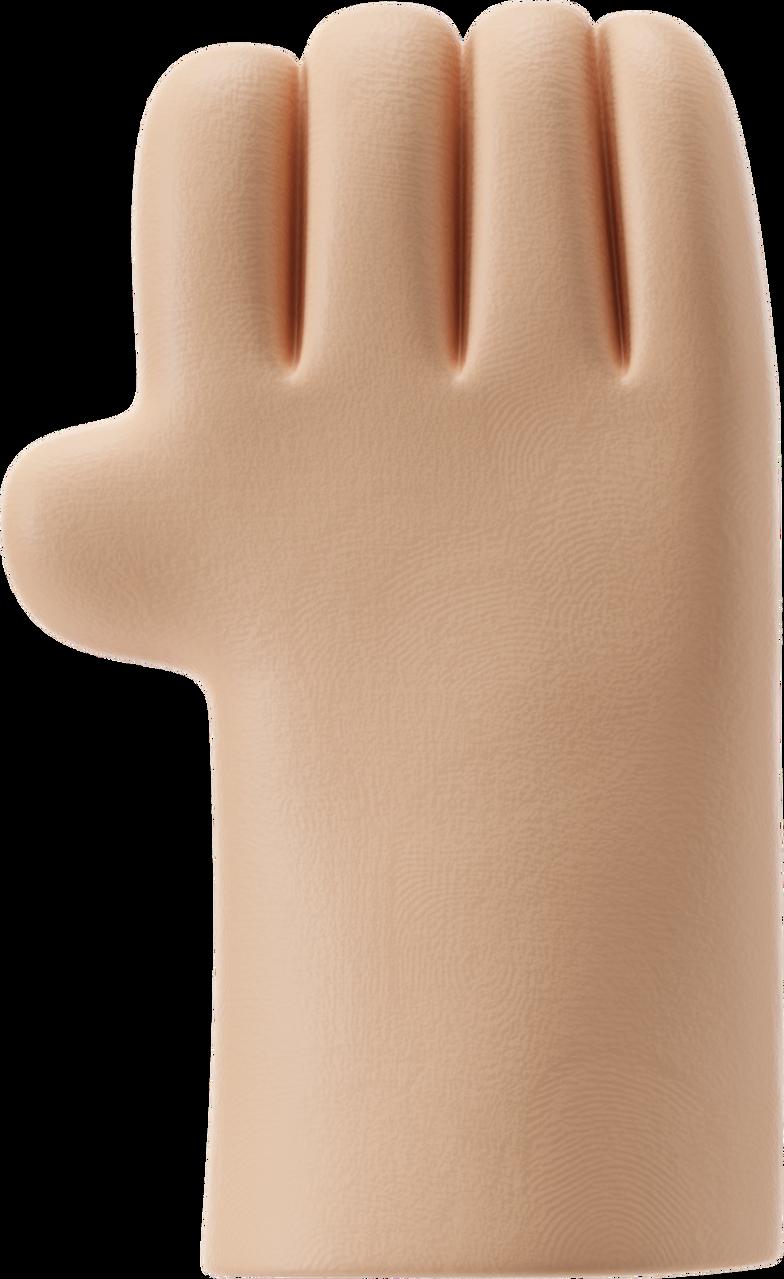 Bärtiger mann handgelenk Clipart-Grafik als PNG, SVG