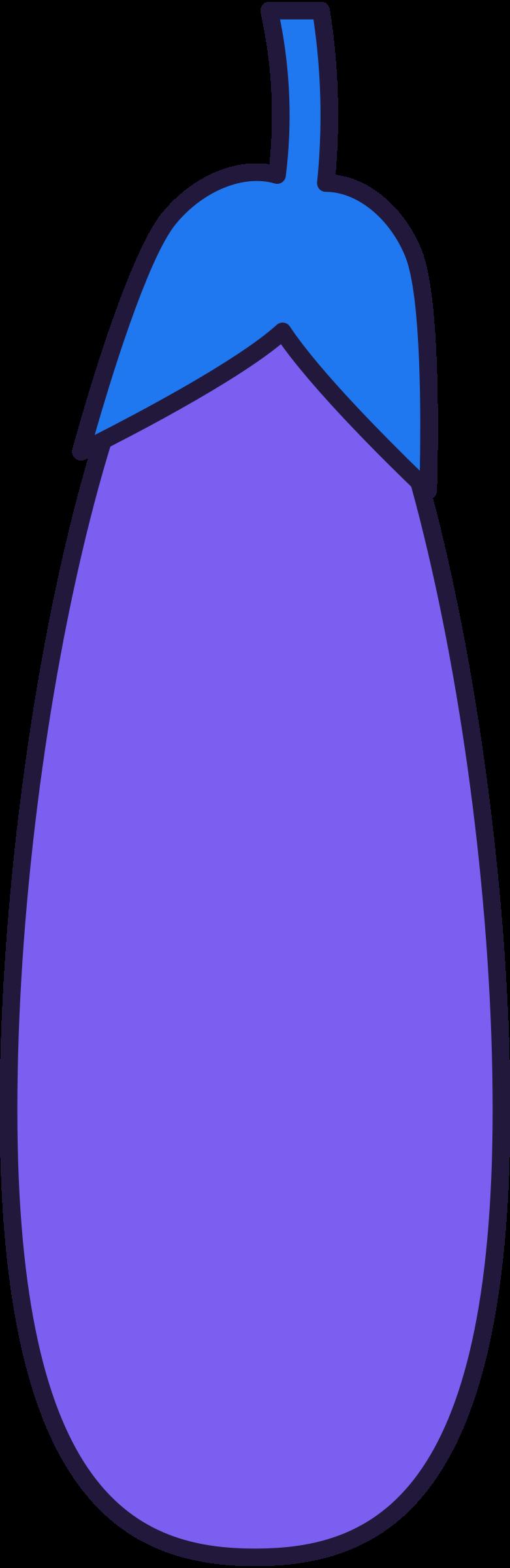 l eggplant Clipart illustration in PNG, SVG