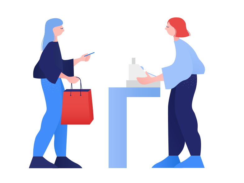 style Payment at the register Vector images in PNG and SVG | Icons8 Illustrations