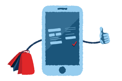 style Your mobile store images in PNG and SVG | Icons8 Illustrations
