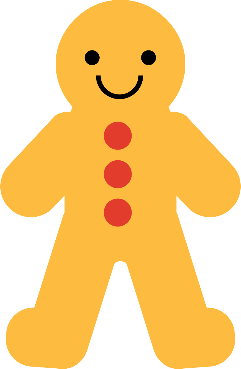 gingerbread Clipart illustration in PNG, SVG