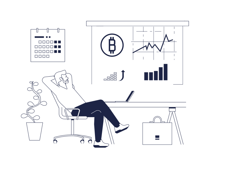 style Bitcoin Growth Vector images in PNG and SVG | Icons8 Illustrations