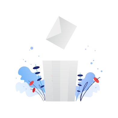 style Throw garbage in the trash images in PNG and SVG | Icons8 Illustrations