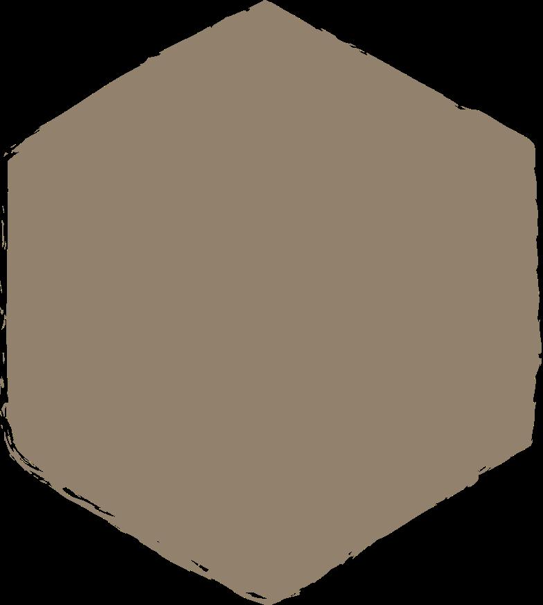 hexadon-dark-grey Clipart illustration in PNG, SVG