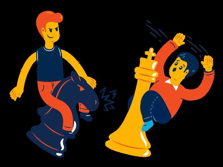 Schach gewinnen Clipart-Grafik als PNG, SVG