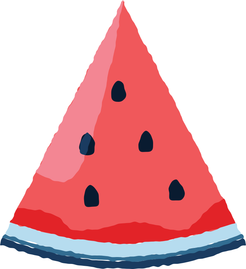 watermelon Clipart illustration in PNG, SVG