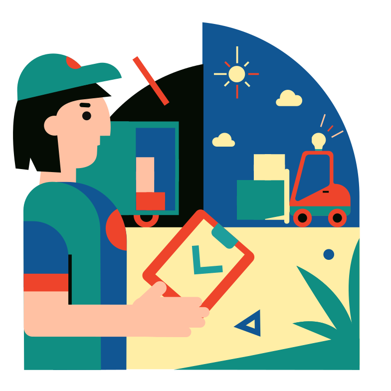 style Cargo transportation Vector images in PNG and SVG | Icons8 Illustrations