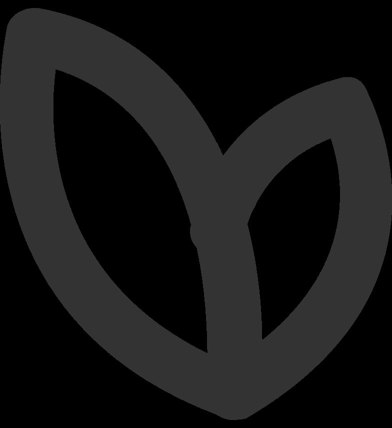 heart black Clipart illustration in PNG, SVG