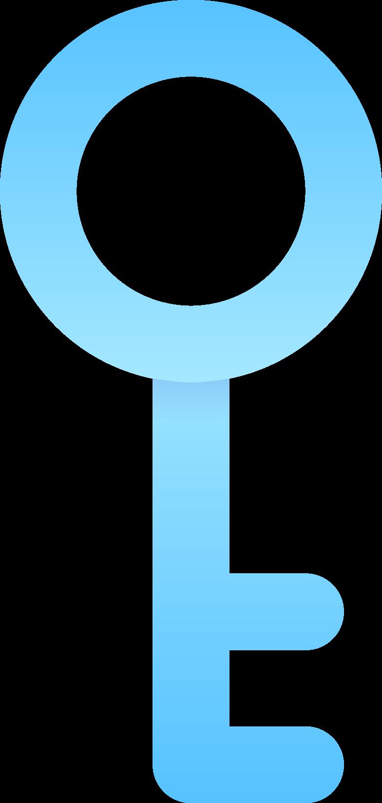 key Clipart illustration in PNG, SVG