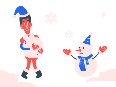 style Making a snowman images in PNG and SVG | Icons8 Illustrations