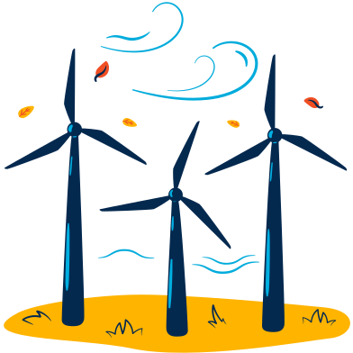 style Wind turbines  images in PNG and SVG | Icons8 Illustrations