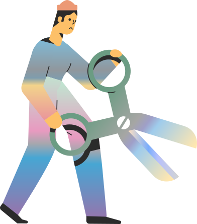 style man with scissors images in PNG and SVG   Icons8 Illustrations