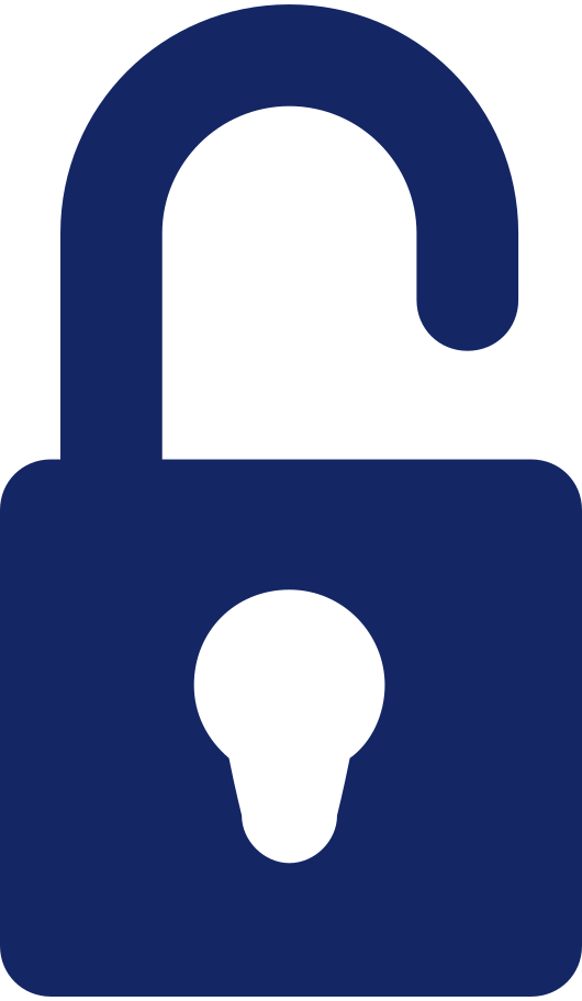unlock icon Clipart illustration in PNG, SVG