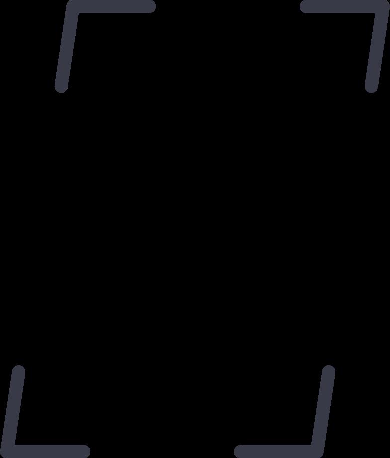 focus frame Clipart illustration in PNG, SVG