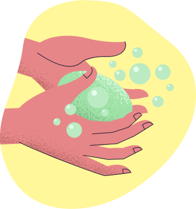 style Washing hands images in PNG and SVG | Icons8 Illustrations