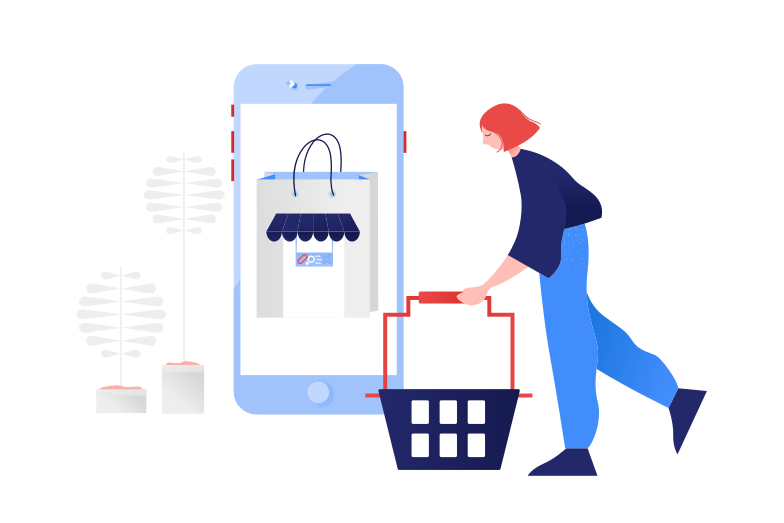 style Online products shopping Vector images in PNG and SVG | Icons8 Illustrations