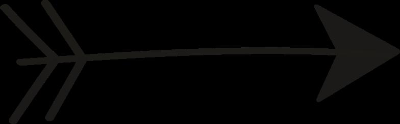 tk black arrow Clipart illustration in PNG, SVG
