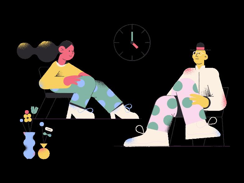 Psychologist Clipart illustration in PNG, SVG