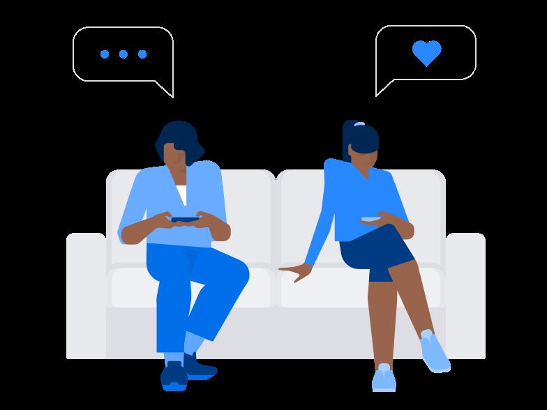 Social life Clipart illustration in PNG, SVG