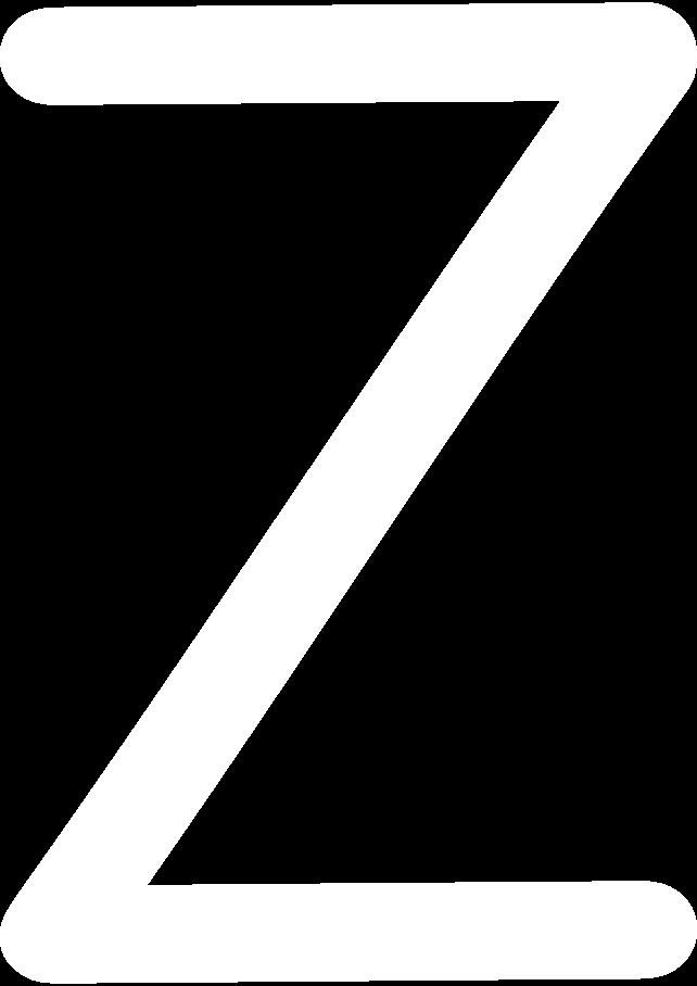 z white Clipart illustration in PNG, SVG