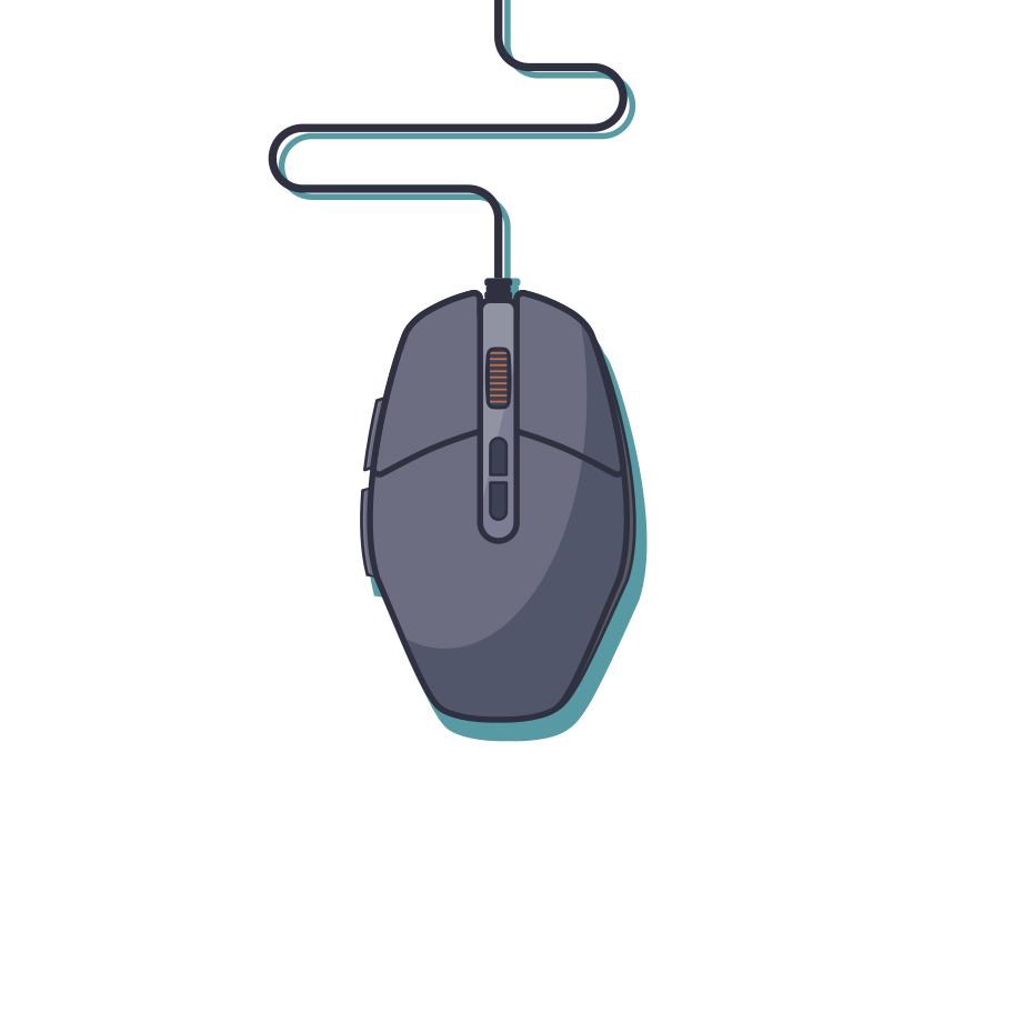style Gaming mouse Vector images in PNG and SVG   Icons8 Illustrations