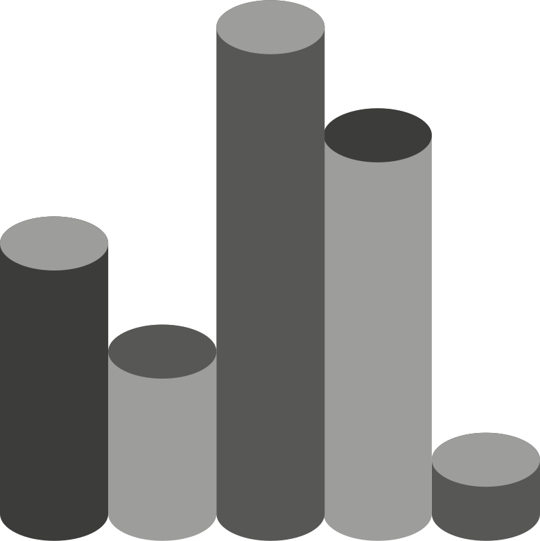 e histogram view Clipart illustration in PNG, SVG