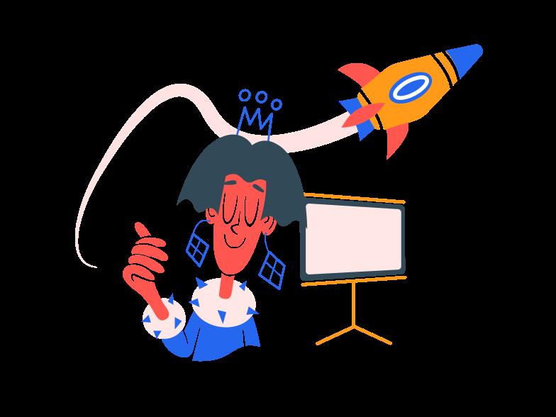 Startup progress Clipart illustration in PNG, SVG