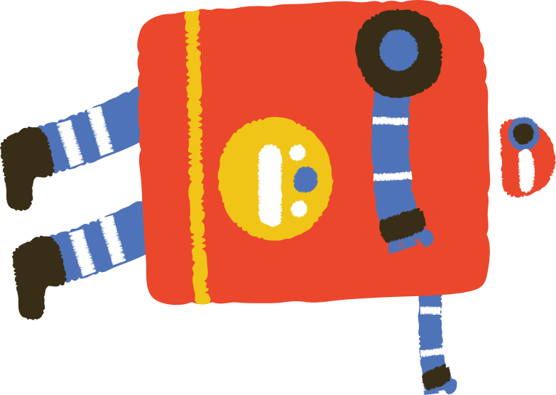 style falling robot Vector images in PNG and SVG | Icons8 Illustrations