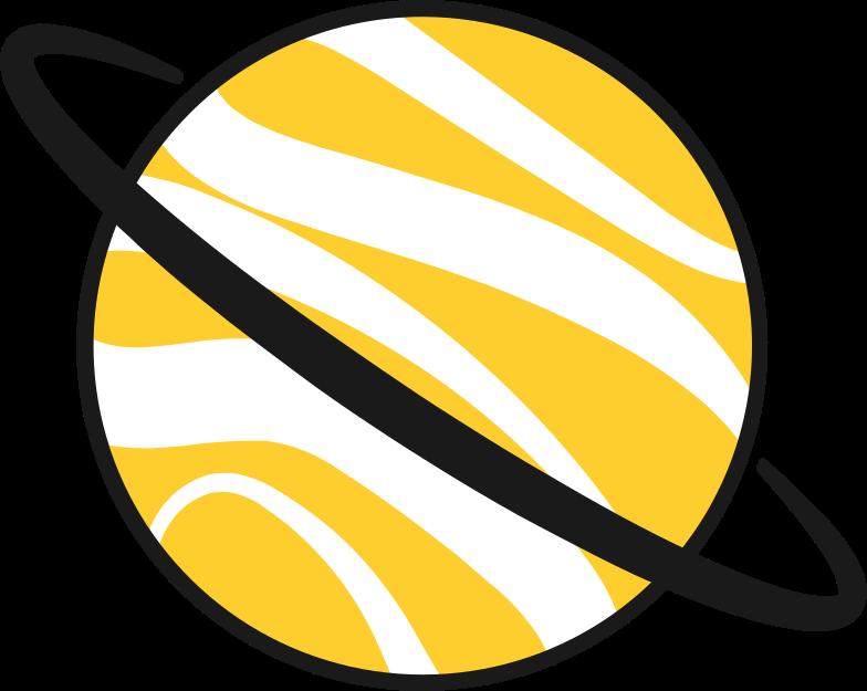 planet Clipart illustration in PNG, SVG