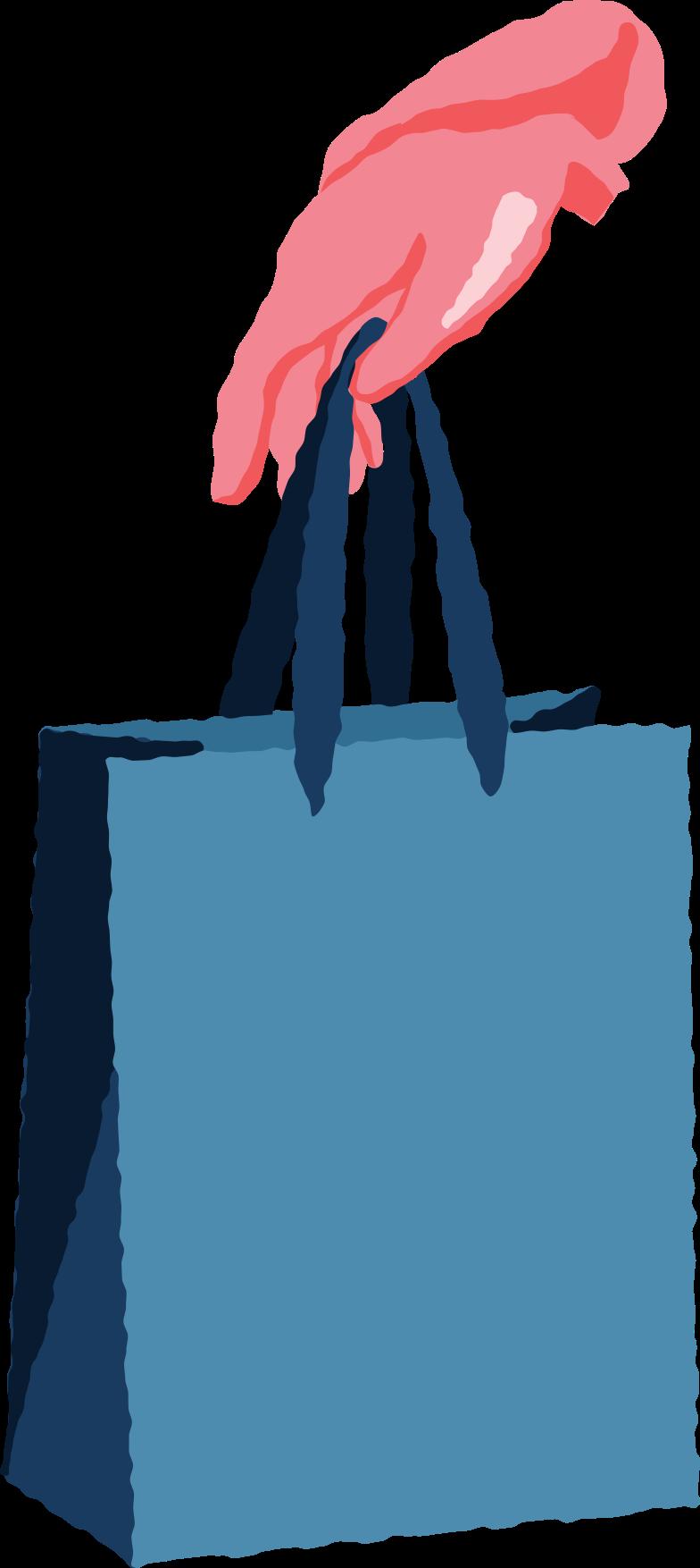 Immagine Vettoriale braccia rosse con pacchetto in PNG e SVG in stile  | Illustrazioni Icons8
