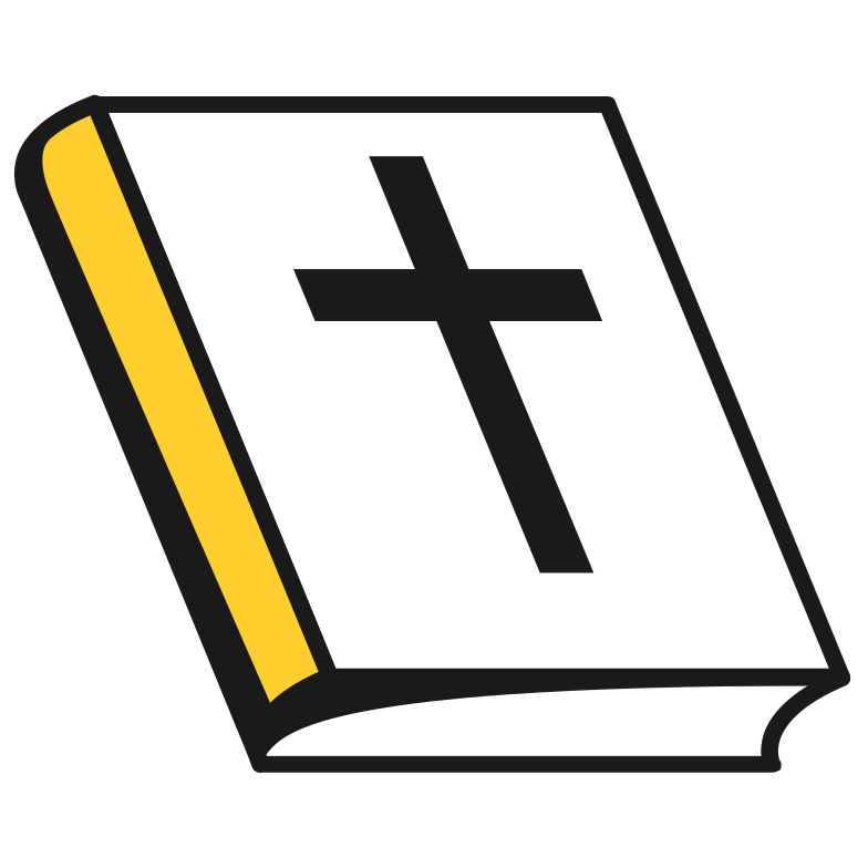 holy bible Clipart illustration in PNG, SVG