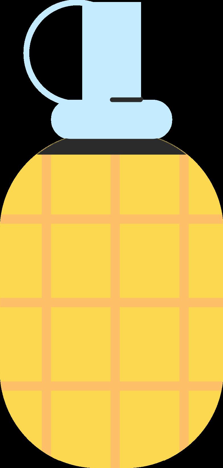 grenade Clipart illustration in PNG, SVG