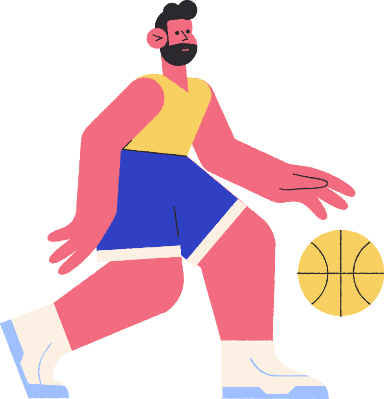 style basketballer Vector images in PNG and SVG | Icons8 Illustrations