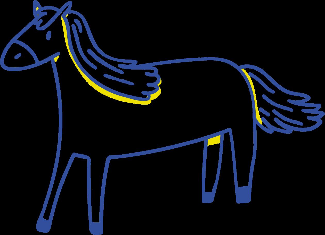 Style  cheval Images vectorielles en PNG et SVG | Icons8 Illustrations