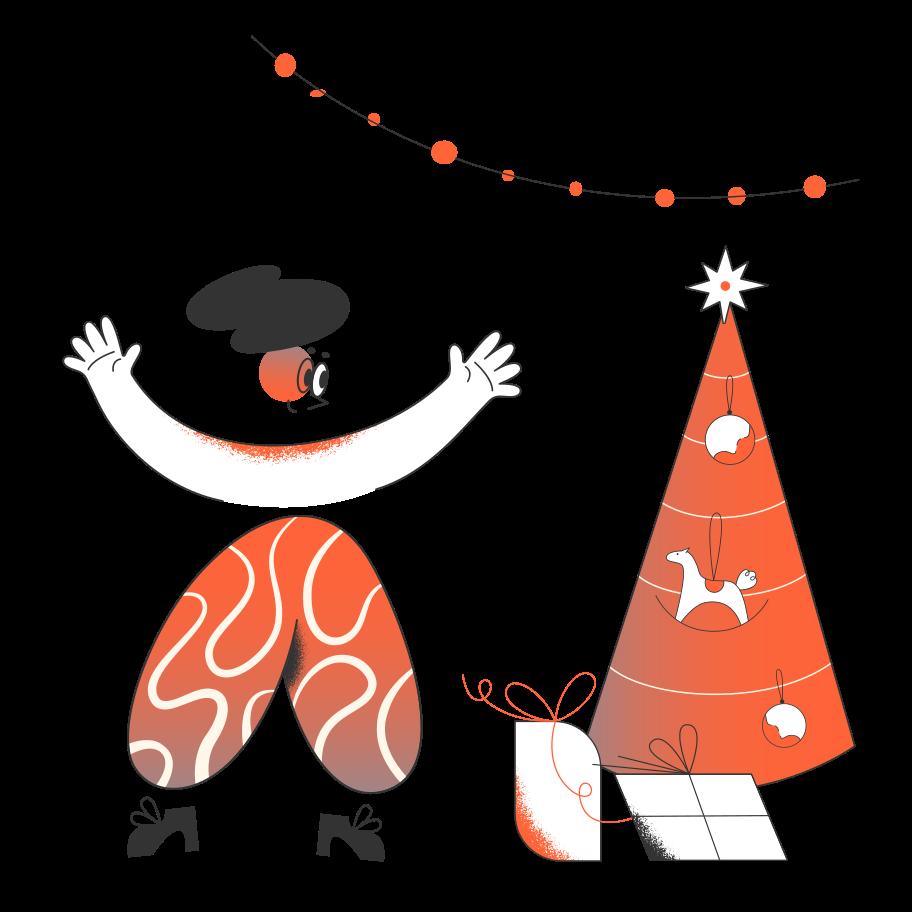 Weihnachten Clipart-Grafik als PNG, SVG