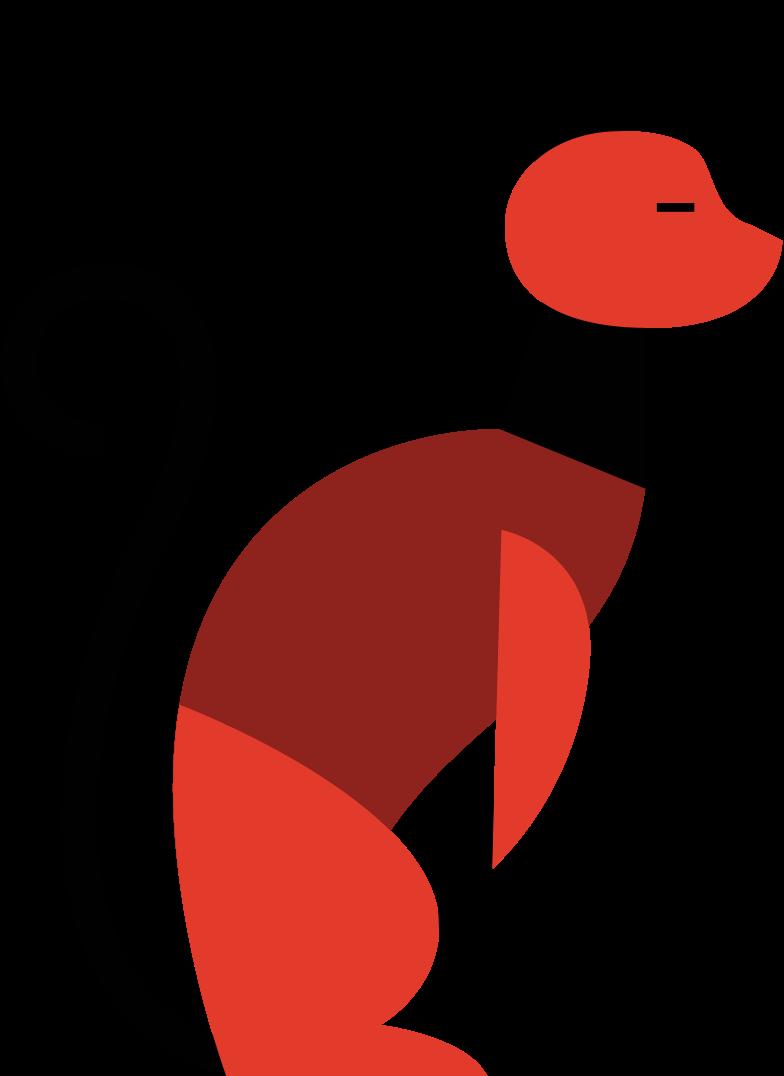 katze sitzt Clipart-Grafik als PNG, SVG
