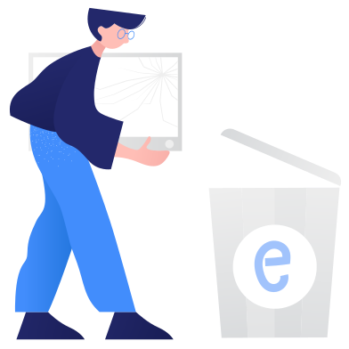 style Waste sorting- e-waste images in PNG and SVG | Icons8 Illustrations