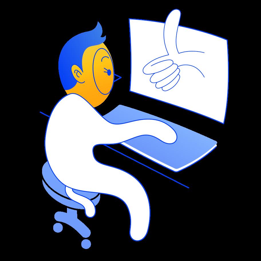 Ilustración de clipart de Como en PNG, SVG