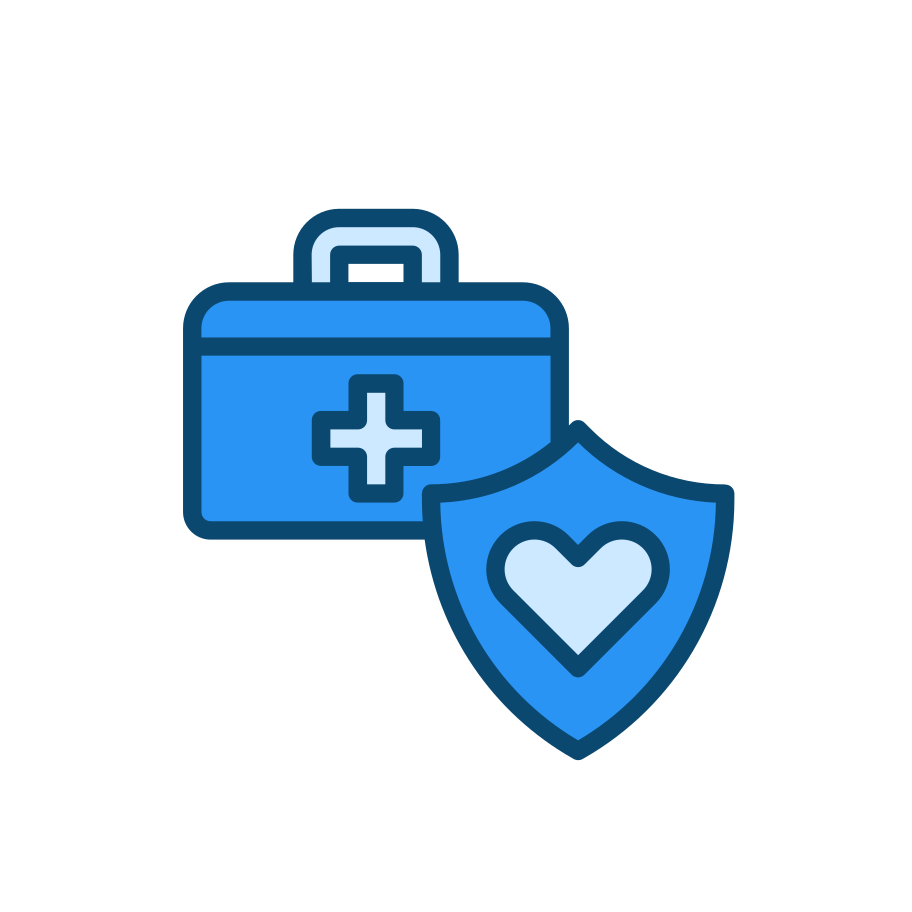 Health insurance Clipart illustration in PNG, SVG