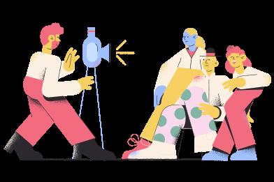 Иллюстрация Семейный портрет в стиле  в PNG и SVG | Icons8 Иллюстрации