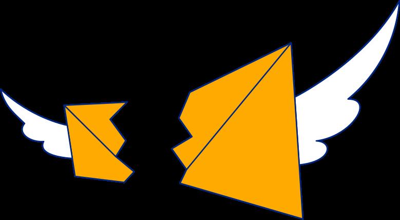 翼のある手紙 のPNG、SVGクリップアートイラスト