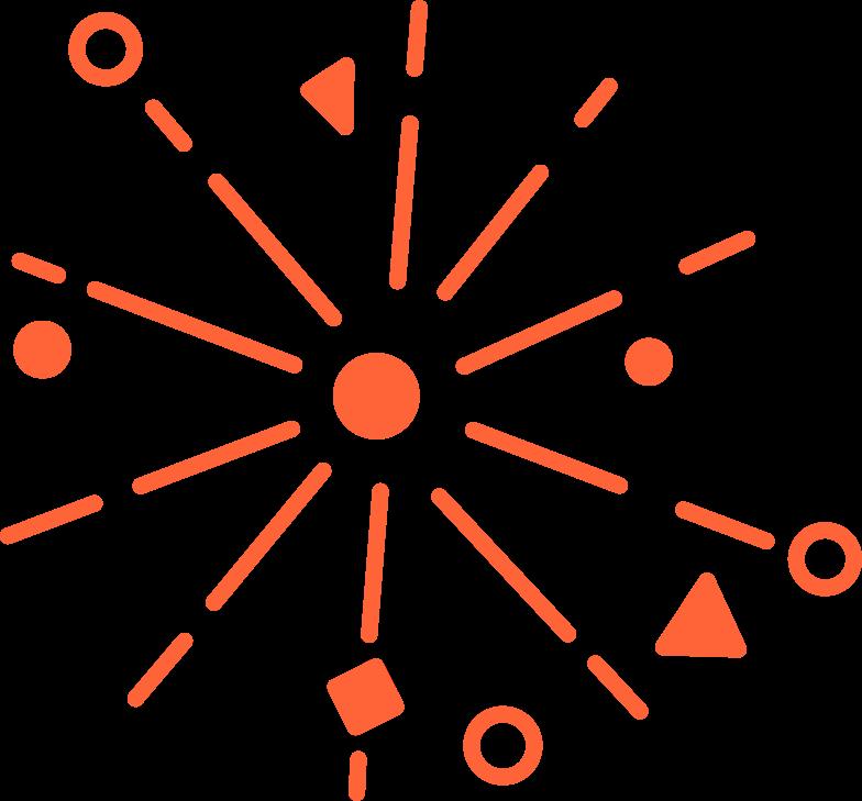 fireworks Clipart illustration in PNG, SVG