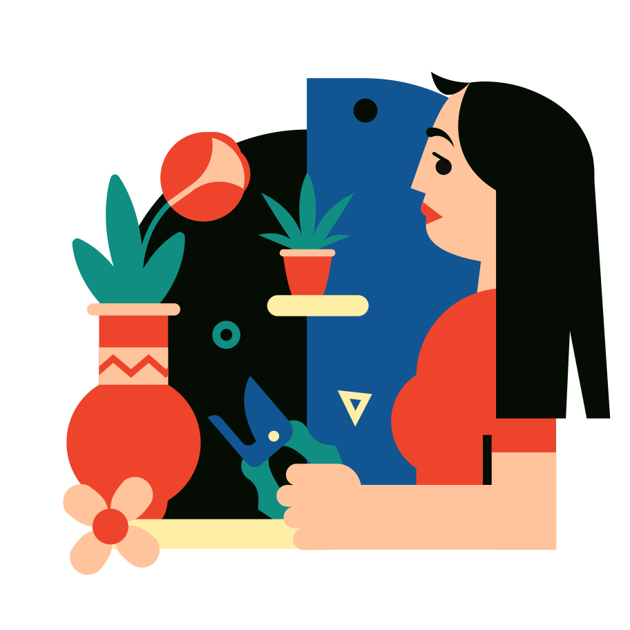 style Houseplants images in PNG and SVG | Icons8 Illustrations